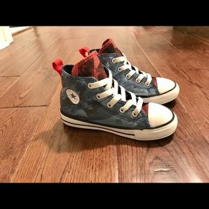 Converse Chuck Taylor All-Star Hi Top Toddler Sz 9